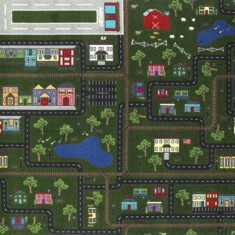 Tiny Town - Multi From Joy Carpets
