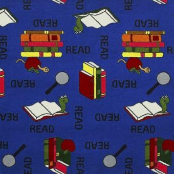 Bookworm - Blue From Joy Carpets
