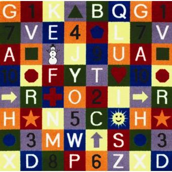 Edu-Squares - Multi From Joy Carpets