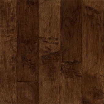 Frontier Hand-Scraped Wide Plank Hickory - Bison From Bruce