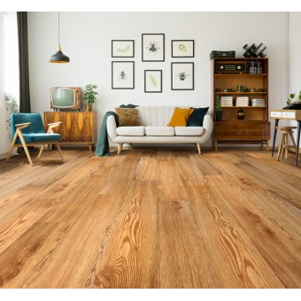 FloorTEC Gluedown LVP - Natural Oak From Showcase Collection