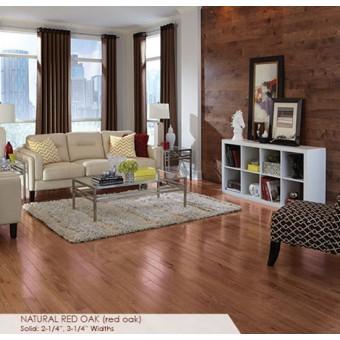 Color Strip 2.25 - Natural Red Oak From Somerset Hardwood