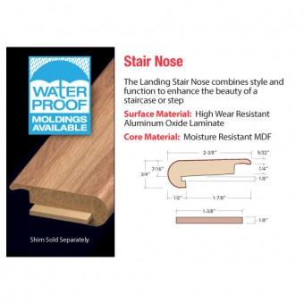 """94"""" Stair Nose - Island Plank From Accessories"""